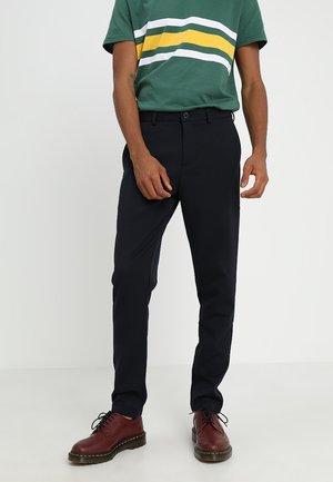 JANZIK - Trousers - navy