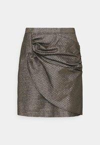 JANET SKIRT - Mini skirt - black
