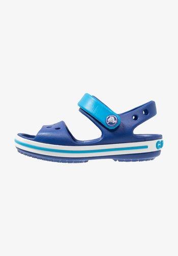 CROCBAND KIDS UNISEX - Pool slides - cerulean blue/ocean