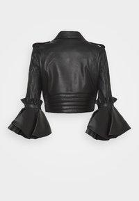 MOSCHINO - Kožená bunda - black - 1