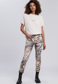 Marc Aurel - Slim fit jeans - taupe varied - 1