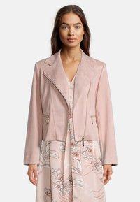 Betty Barclay - Faux leather jacket - altrosa - 0