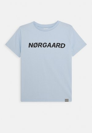 PRINTED TEE THORLINO - T-shirts basic - blue
