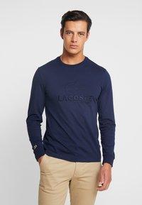 Lacoste - T-shirt à manches longues - navy blue - 0