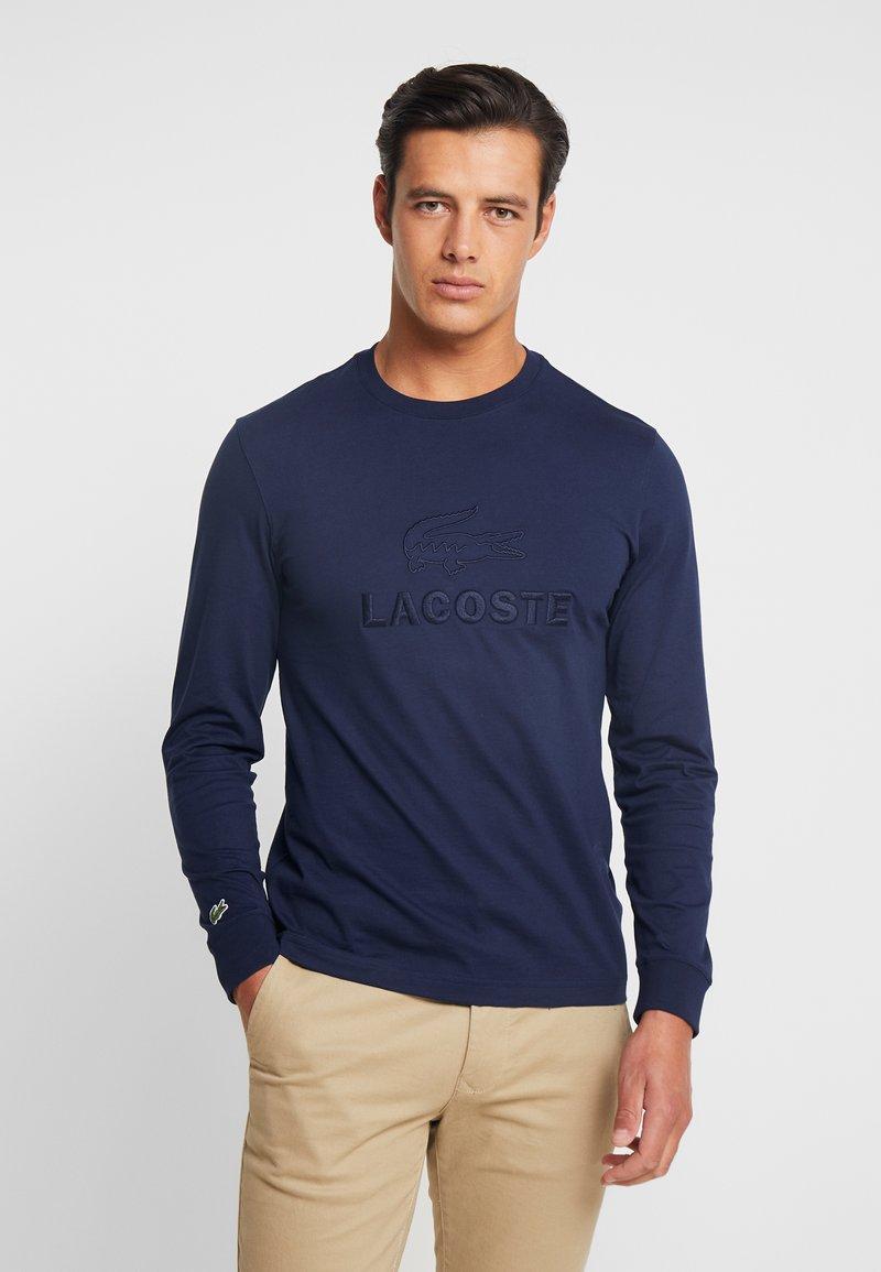 Lacoste - T-shirt à manches longues - navy blue