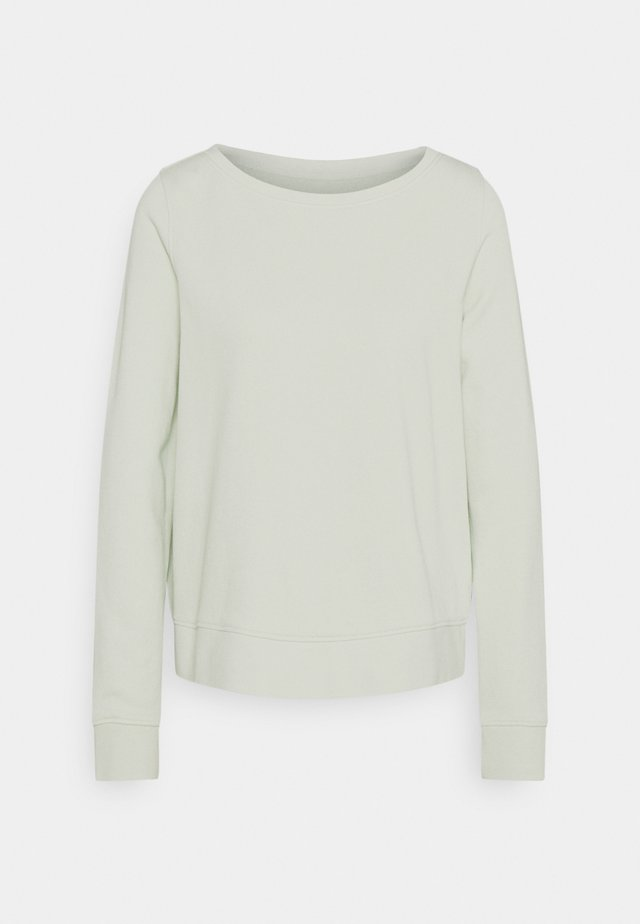 LONG SLEEVE ROUND NECK - Sweatshirt - pale mint