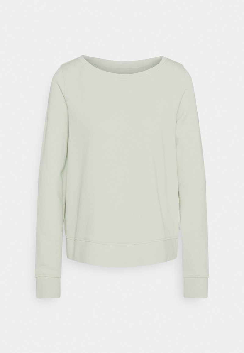 Marc O'Polo - LONG SLEEVE ROUND NECK - Sweatshirt - pale mint