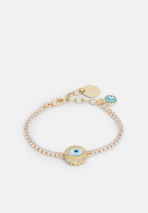 CHAIN AND EYE - Armbånd - gold-coloured