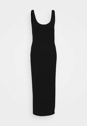 ENALLY DRESS - Vestido largo - black