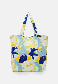 STUDIO ID - PRINT UNISEX - Tote bag - multicoloured/blue/orange - 0