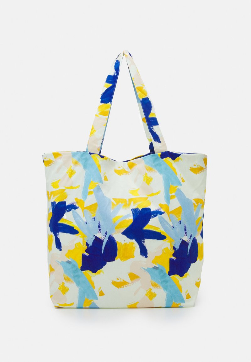 STUDIO ID - PRINT UNISEX - Tote bag - multicoloured/blue/orange