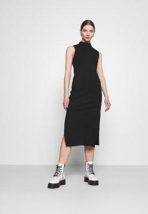 Vestido de punto - black dark