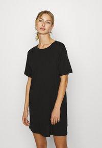 Even&Odd - Žerzejové šaty - black - 0