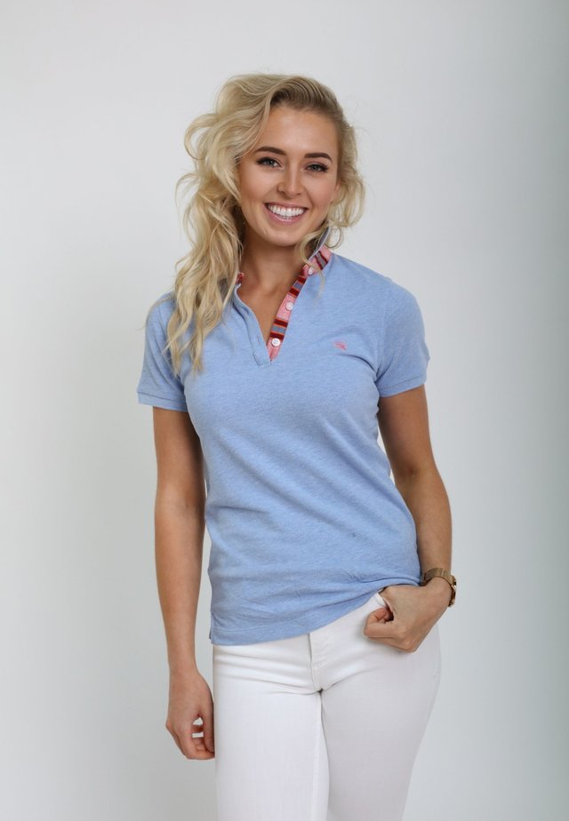 GUSII - Polo shirt - light blue