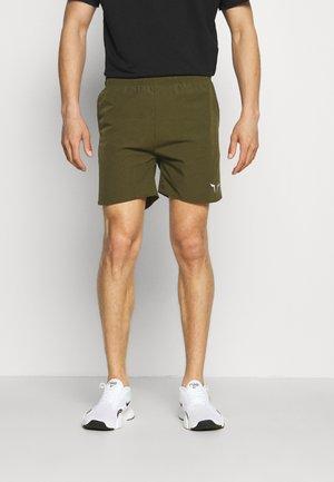 DRY TECH SHORTS - Sports shorts - olive