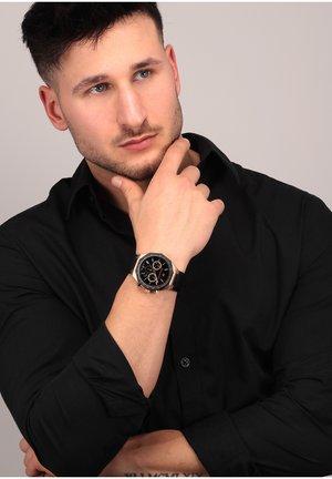 Watch - schwarz/rose gold