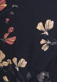 Vero Moda - VMHALLIE LONG TIE DRESS - Shirt dress - night sky/hallie - 2