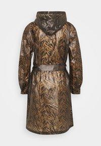 Cream - SEVICA RAINCOAT - Waterproof jacket - brown - 1