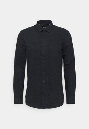 ONSBRAD HERRINGBONE SHIRT - Shirt - dark navy