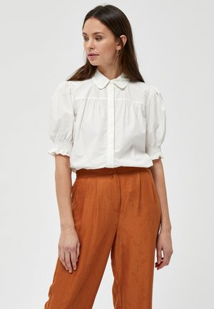 ALETTE  - Button-down blouse - cloud dancer