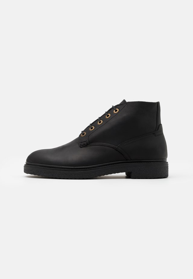 BRIGGS - Bottines à lacets - black