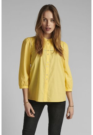Button-down blouse - snapdragon