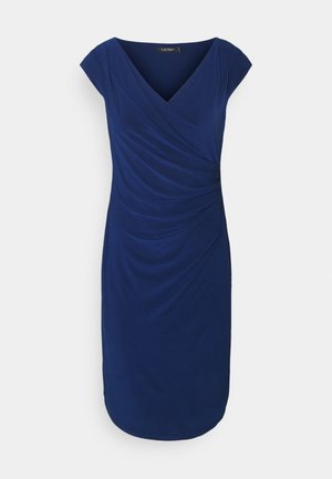 MID WEIGHT DRESS - Fodralklänning - twilight royal