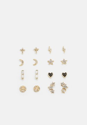 EARSTUD 8 PACK - Øreringe - gold-coloured