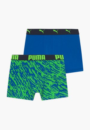 PRINT BOXER 2 PACK - Culotte - green
