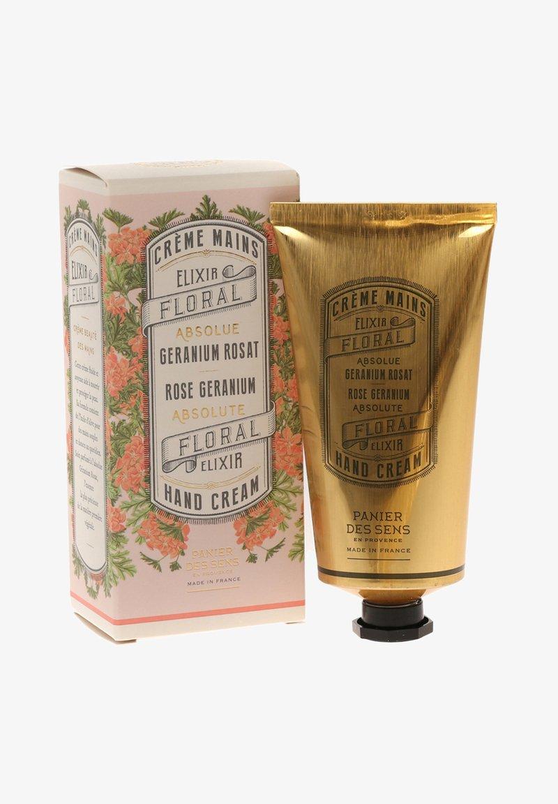 Panier des Sens - EXTRA REICHHALTIGE HANDCREME ROSEN GERANIE 75 ML - Hand cream - -