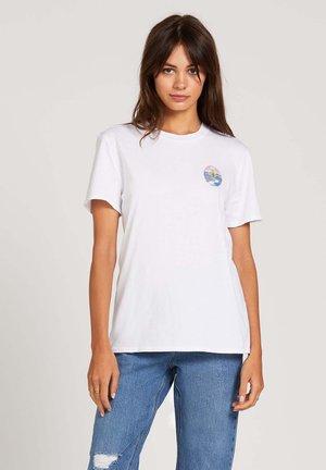 ZUVERZA - T-Shirt print - white