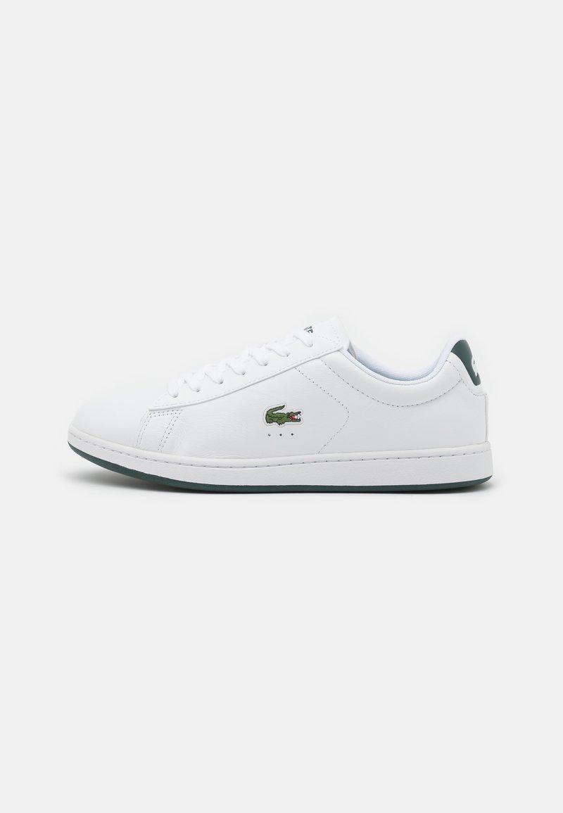 Lacoste - CARNABY EVO - Trainers - white/dark green