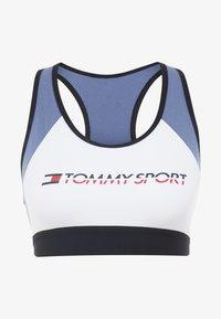 Tommy Hilfiger - BLOCKED BRA MID - Sport BH - blue - 3