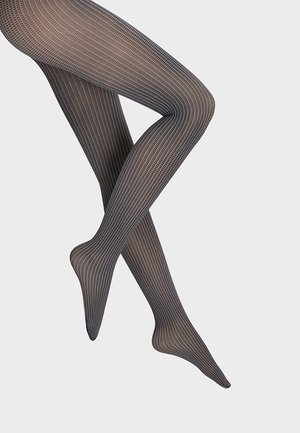 HAVEN - Tights - black/white