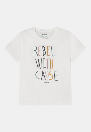 REBEL UNISEX - T-shirt print - off white