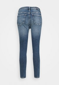 Calvin Klein Jeans - HIGH RISE SKINNY - Skinny džíny - denim medium - 8