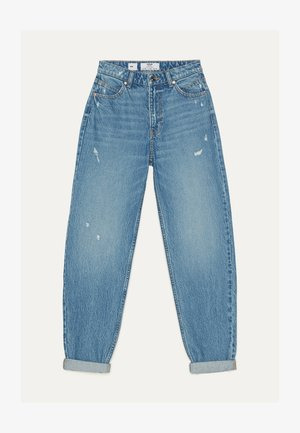 MOM - Jeans a sigaretta - light blue