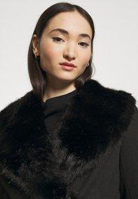 Miss Selfridge - BELT COAT - Classic coat - black - 4