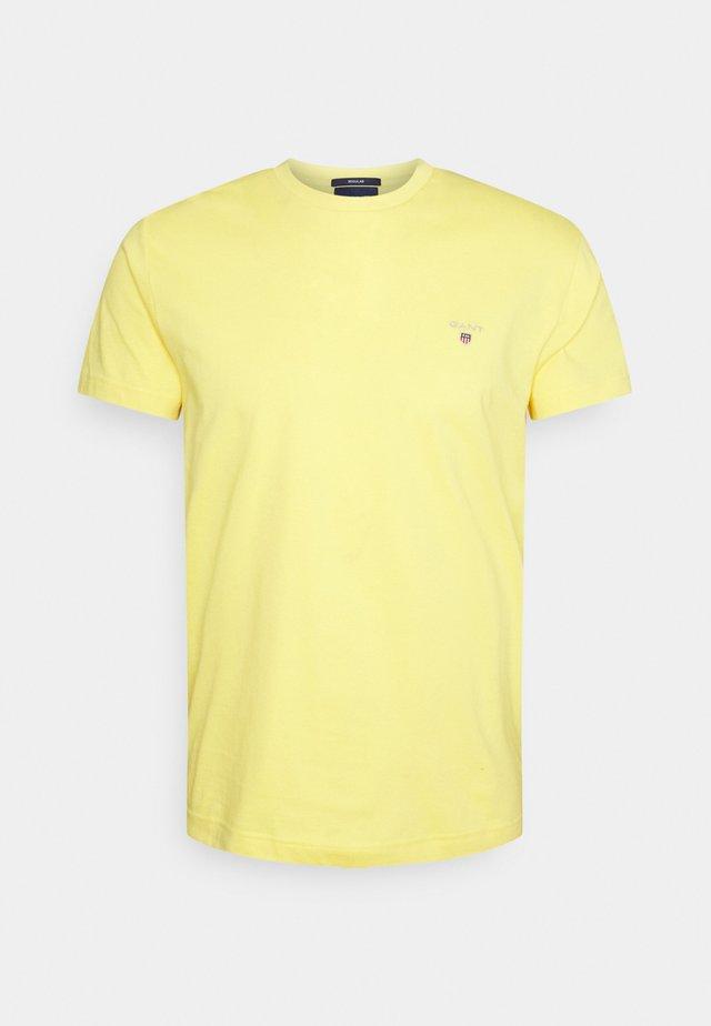 THE ORIGINAL - T-shirt basique - brimstone yellow