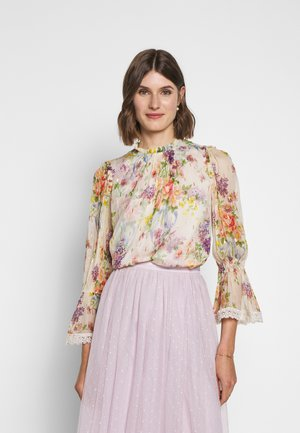 FLORAL DIAMOND - Bluse - champagne