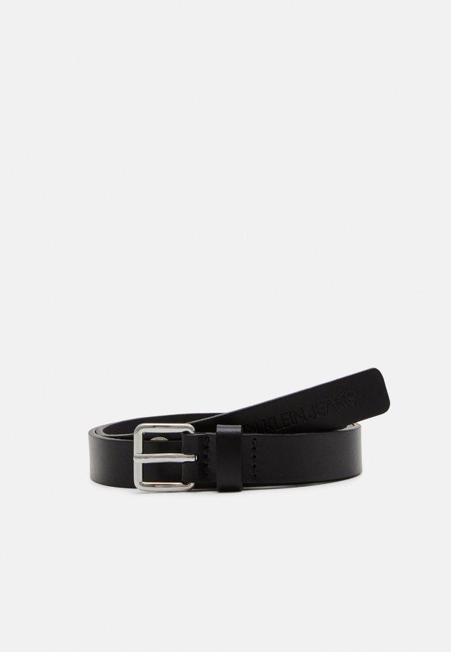 EYELET BELT UNISEX - Belt - black