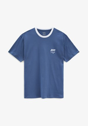 MN VANS X PENN SS - Print T-shirt - (penn) true navy