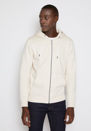 HOODY JACKET  - Sudadera con cremallera - light almond