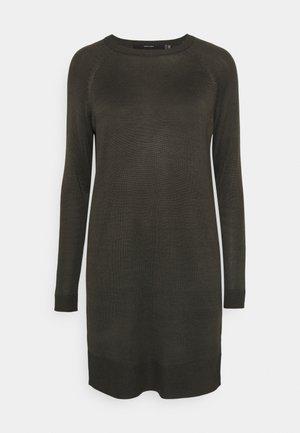 VMMEGHAN O NECK DRESS - Jumper dress - peat