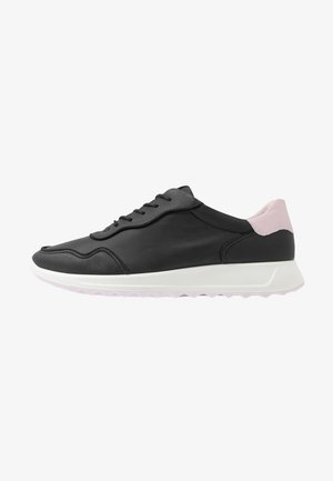 ECCO FLEXURE RUNNER II - Sneaker low - black/blossom rose