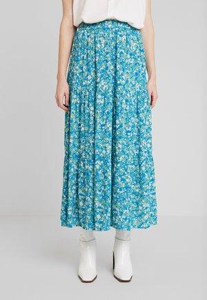ILLY SKIRT - Jupe longue - mosaic blue