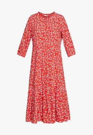 DAISYCR FLOUNCE DRESS - Hverdagskjoler - aurora red