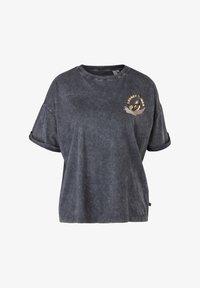 Q/S designed by - LOONEY TUNES - T-shirt print - black - 4