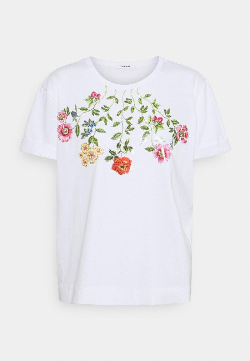 Vivetta - T-shirt print - bianco ottico