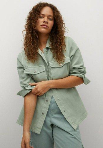 Košile - wassergrün